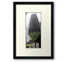 Skyscraper Forest Framed Print