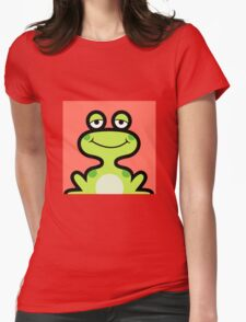 Cute frog avatar Womens Fitted T-Shirt