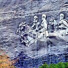Stone Mountain Carvings by Janie Oliver