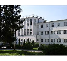 University of Physical Education in Warsaw, Poland Photographic Print