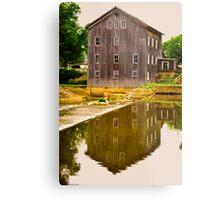 Stockton Mill Metal Print