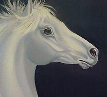 Silver Stallion by Vivian Eagleson
