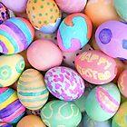 Painted Eggs by emjaynie