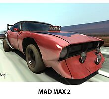 MAD MAX BAT CAR by Wayne Dowsent