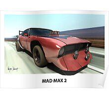 MAD MAX BAT CAR Poster