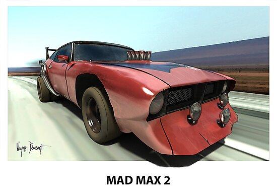 MAD MAX BAT CAR by Wayne Dowsent