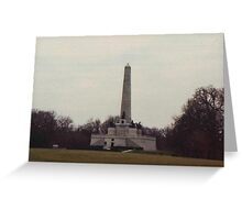 Lincoln's Tomb Greeting Card