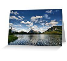 Vermillion Lakes, Banff National Park Greeting Card