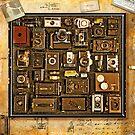 Old School Cameras by Mal Bray