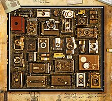 Old School Cameras by Mal Bray