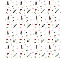 Lipstick and Bullets Photographic Print