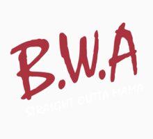 BWA, Babies with Attitude Straight Outta Mama Kids Tee