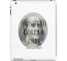 All about the Benjamins iPad Case/Skin