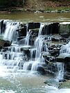 Water Falls on the Chagrin River by Marcia Rubin