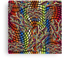 """""""Space Time""""© Canvas Print"""