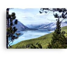 Lake Muncho British Columbia, Canada  Canvas Print