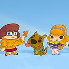 Scooby Doo Gang by Mark Sheard