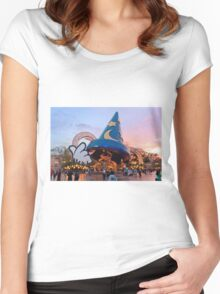 Hollywood Studios After the Rain Women's Fitted Scoop T-Shirt