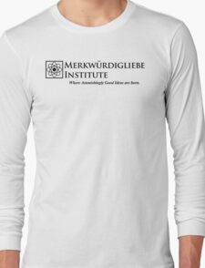 The Merkwurdigliebe Institute Long Sleeve T-Shirt