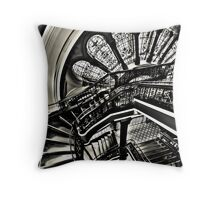 Stained with History - Queen Victoria Building, Sydney Throw Pillow