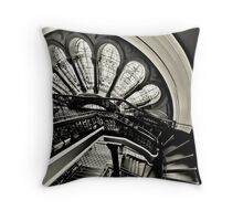 Stained with History II - Queen Victoria Building, Sydney Throw Pillow