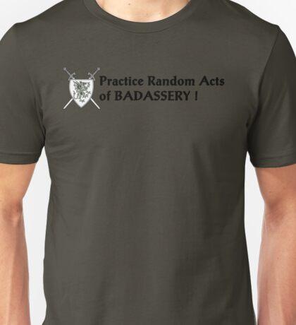 Badass T shirt Unisex T-Shirt
