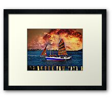 Take me for the ride Framed Print