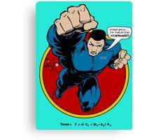 SuperHero Thrust Canvas Print