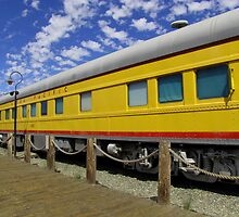 Union Pacific Passenger Car by LynnL