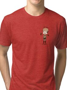 Jean Is Not A Horse Tri-blend T-Shirt