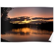 Lake of The Ozarks Sunset  Poster