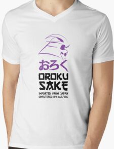Oroku Sake Mens V-Neck T-Shirt