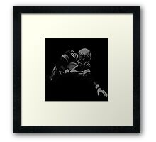 Flying Football Player Collection Framed Print