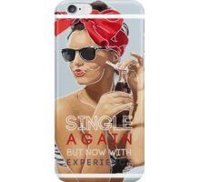 Single Pin Up Girl iPhone Case/Skin