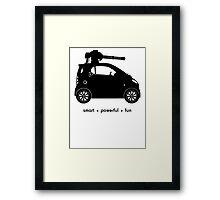 The Smart Car  Framed Print