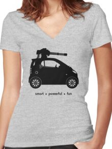The Smart Car  Women's Fitted V-Neck T-Shirt
