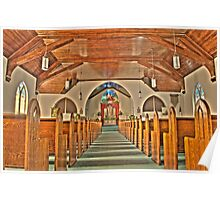 HDR - CGELC - Pews and Altar Poster