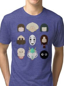 Spirited Away (Minimalistic)  Tri-blend T-Shirt