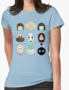 Spirited Away (Minimalistic)  Womens Fitted T-Shirt