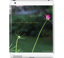 Pink Flower Series iPad Case/Skin