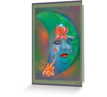Lakshmi Goddess of Abundance  Greeting Card