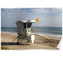 Beach Landing Poster
