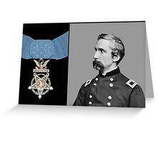 J.L. Chamberlain And The Medal Of Honor Greeting Card