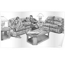 Advertising Art - Furniture 3 Poster