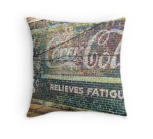 Coca-Cola Days Gone By Throw Pillow
