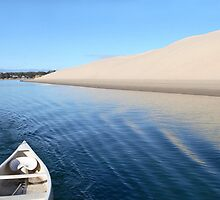 Sand Dune with Boat by emjaynie