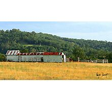OLD FARM SHED-DUNGOG AUSTRALIA Photographic Print