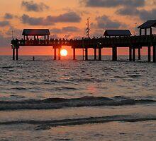 Pier Sunset by emjaynie