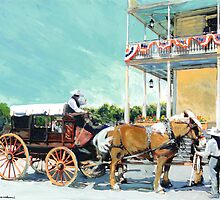 Los Angeles - San Diego Stagecoach Company Picture by RDRiccoboni