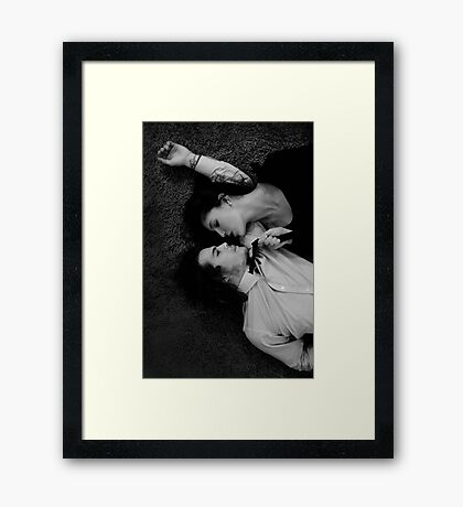 """""""Who you are"""" Framed Print"""